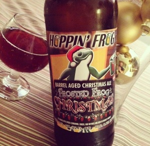 Hoppin Frog BA Frosted Frog